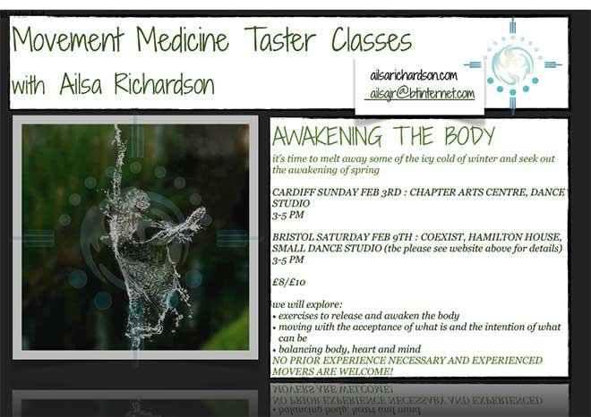 ailsa richardson movement medicine